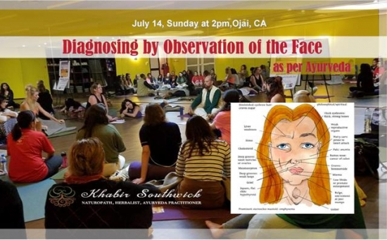 Free class: Diagnosing by Observation of the face as per Ayurveda